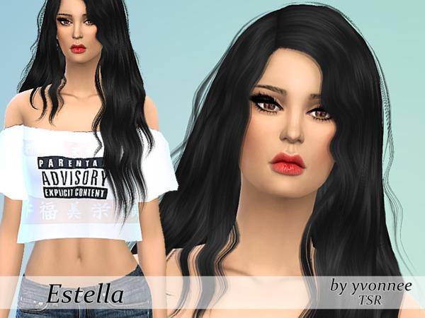 Estella Sanchez by yvonnee at TSR image 17101 Sims 4 Updates