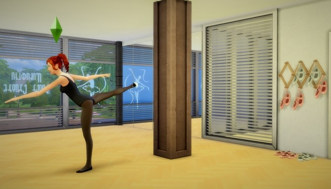Sims 4 Ballet Sticker Pack, Posters and Signs at Budgie2budgie