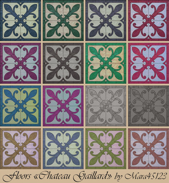 Chateau Gaillard floors at Mara45123 image 17211 Sims 4 Updates
