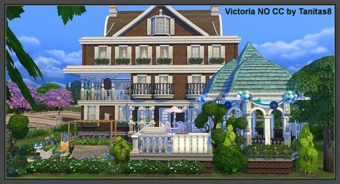 Victoria No Cc House At Tanitas8 Sims 187 Sims 4 Updates