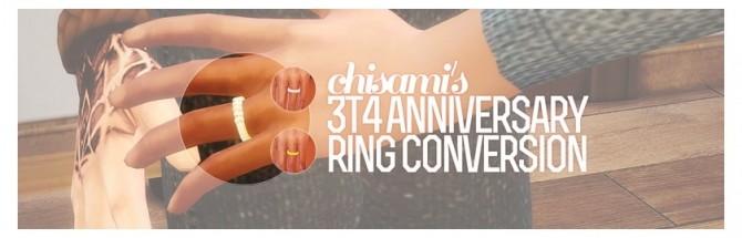 Sims 4 Cyclo tripzs Diamond Anniversary Ring conversion at Chisami