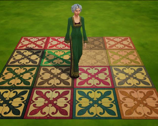 Chateau Gaillard floors at Mara45123 image 17410 Sims 4 Updates