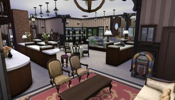 Sims 4 Bakery Shop by GGOYAM : BANGSAIN at My Sims House