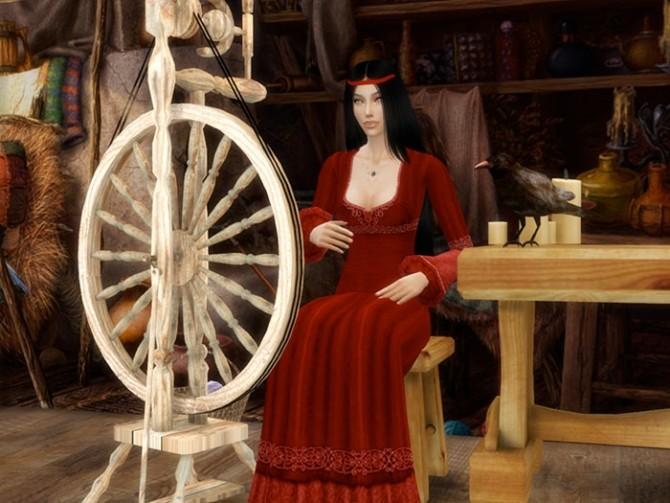 Sims 4 Morana at Sims by Severinka