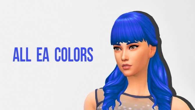 Luxury Party Hairs Base Game EA colors at Primadonna Sims image 17911 670x377 Sims 4 Updates