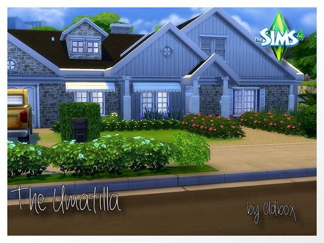 The Umatilla house by Oldbox at All 4 Sims image 1810 Sims 4 Updates