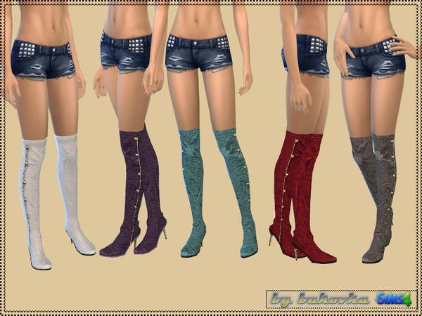 Shoes Jackboots by bukovka at TSR image 1828 Sims 4 Updates