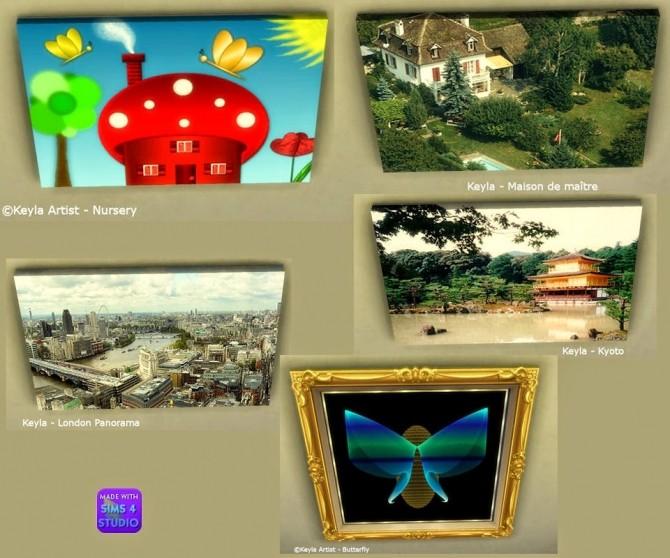 Sims 4 Paintings at Keyla Sims