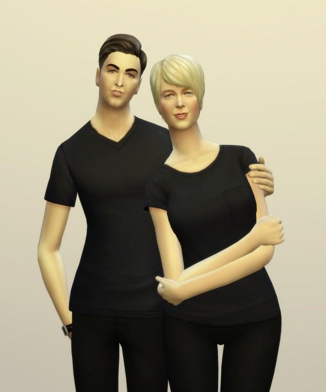 Sims 4 Lovers 1 poses at Rusty Nail