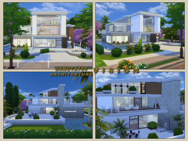 Vision house by Danuta720 at TSR image 1840 Sims 4 Updates