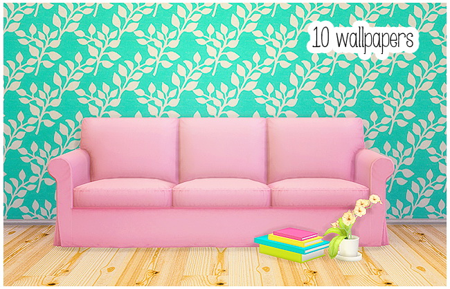 10 Kaputt Geliebt wallpapers at Lina Cherie image 1848 Sims 4 Updates