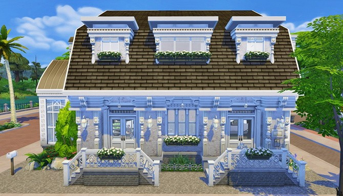 HOUSE 14 by BANGSAIN : ggoyam at My Sims House image 1859 670x383 Sims 4 Updates