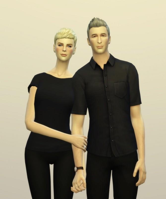 Sims 4 Lovers 3 poses at Rusty Nail