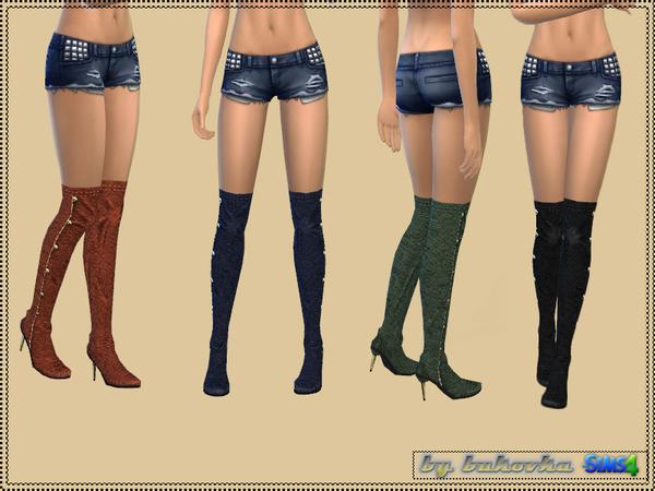 Shoes Jackboots by bukovka at TSR image 1924 Sims 4 Updates