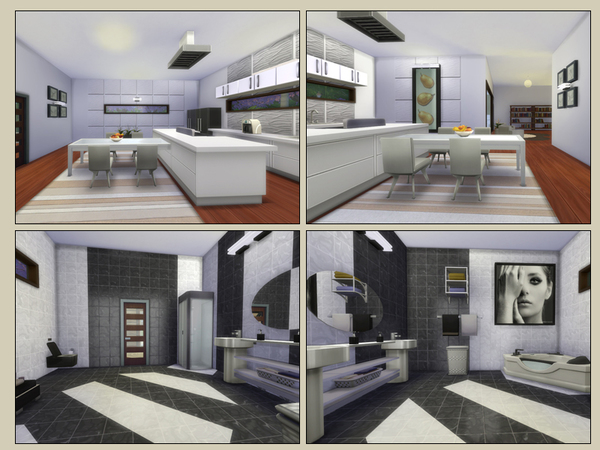 Vision house by Danuta720 at TSR image 1930 Sims 4 Updates