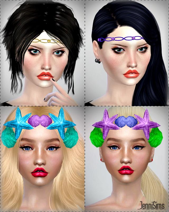 Sims 4 Tiaras Headband at Jenni Sims