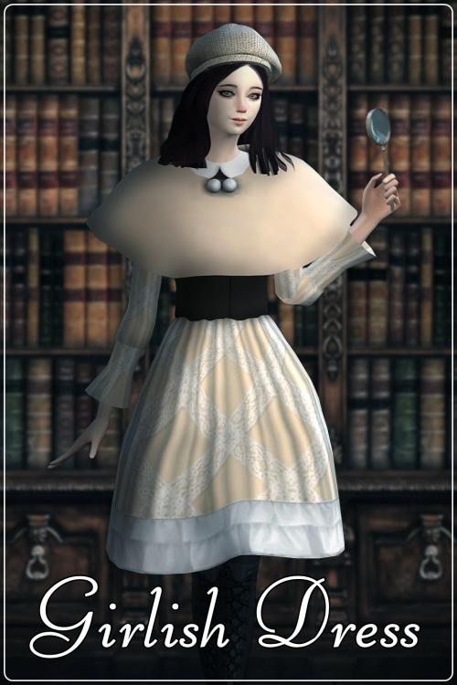 Sims 4 Girlish set at Happy Life Sims