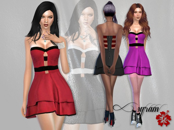 Emmy Cant Wait Dress by EsyraM at TSR image 2010 Sims 4 Updates