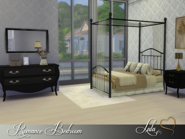 Romance Bedroom by Lulu265 at TSR image 2016 Sims 4 Updates