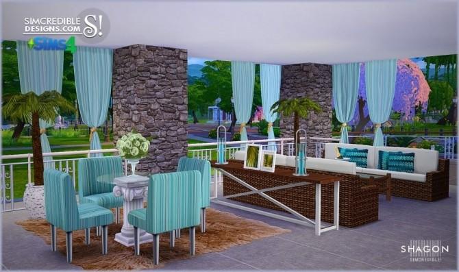 Sims 4 Shagon diningroom at SIMcredible! Designs 4