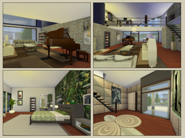 Vision house by Danuta720 at TSR image 2038 Sims 4 Updates