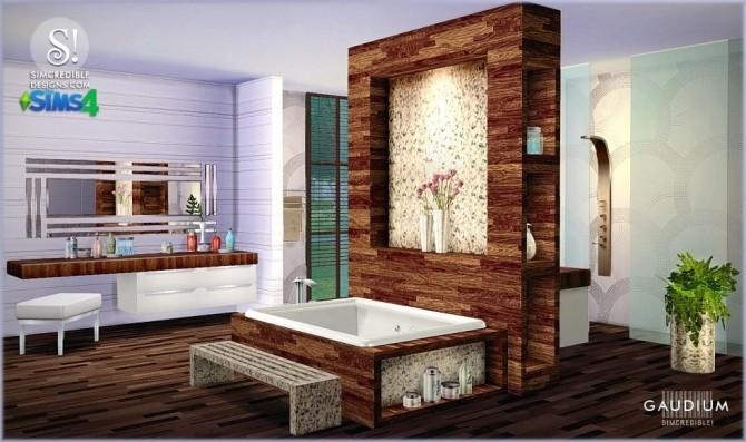 Gaudium Bathroom At Simcredible Designs 4 187 Sims 4 Updates