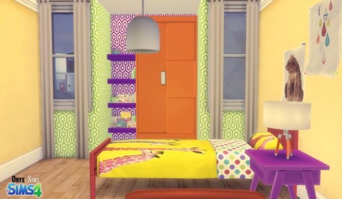 Sims 4 HEXA BEDROOM SET by Kiara Rawks at Onyx Sims