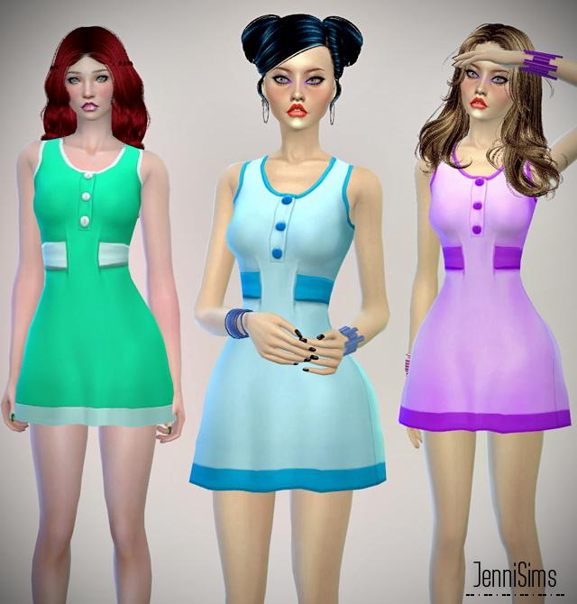Dresses set at Jenni Sims image 20510 Sims 4 Updates