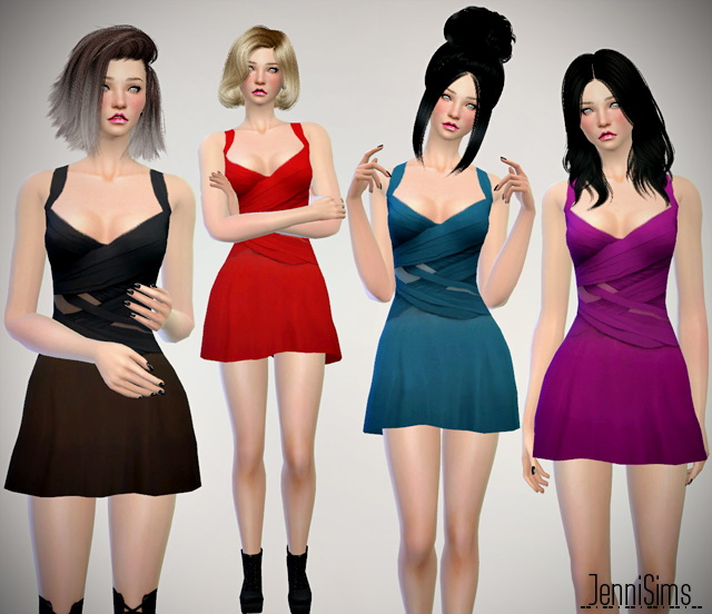 Dresses set at Jenni Sims image 20610 Sims 4 Updates