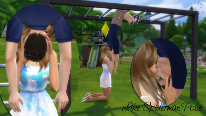 Like Spiderman poses by DalaiLama at The Sims Lover » Sims 4 Updates