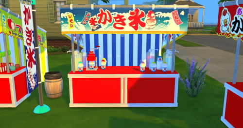Japanese Festival Set Part 1 at Noir And Dark Sims image 2078 Sims 4 Updates