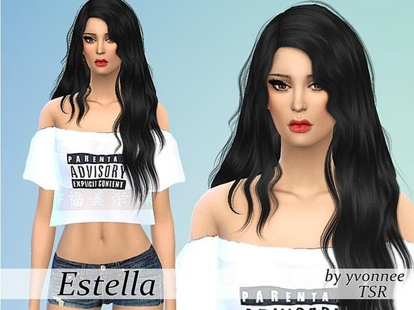 Estella Sanchez by yvonnee at TSR image 2090 Sims 4 Updates