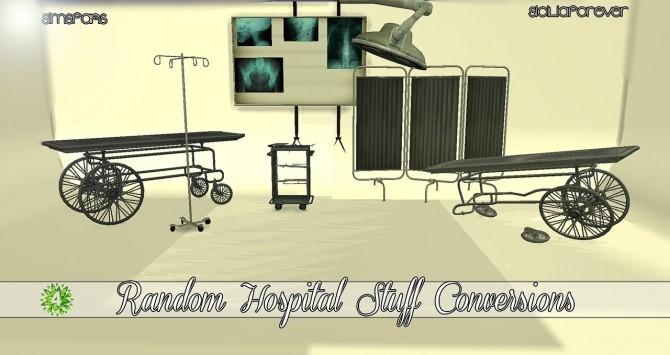 Random Hospital Stuff Conversions by Siciliaforever at Sims Fans u00bb Sims 4 Updates