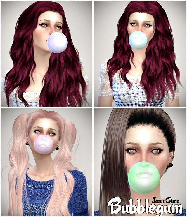 Sims 4 Large BubbleGum at Jenni Sims