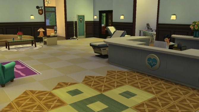 Hospital by Bunny m at Mod The Sims image 21106 670x377 Sims 4 Updates