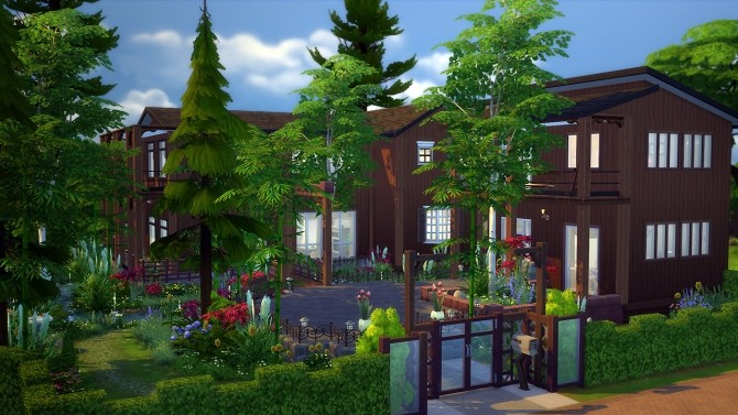 Willow Spleen house at Fezet's Corporation » Sims 4 Updates