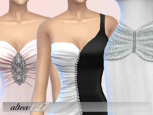 Rose dress by altea127 at TSR image 2116 Sims 4 Updates