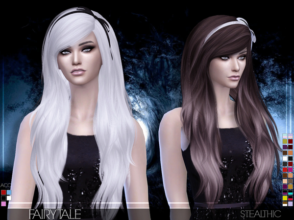 Fairytale Female Hair by Stealthic at TSR image 2136 Sims 4 Updates