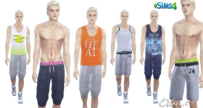 Sport Pants and T shirts at OleSims image 2141 670x358 Sims 4 Updates