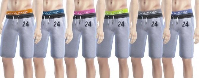 Sims 4 Sport Pants and T shirts at OleSims