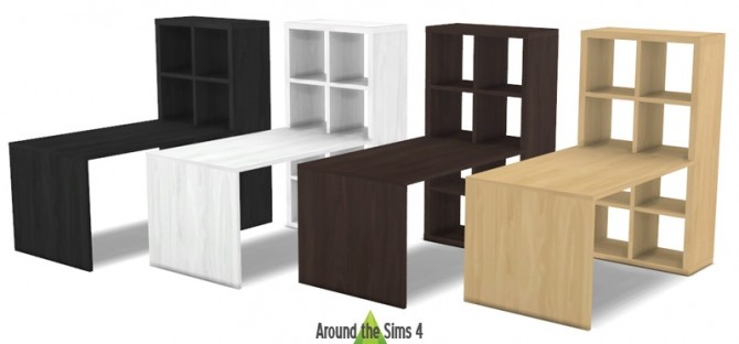 ikea like expedit kallax furniture at around the sims 4 sims 4 updates. Black Bedroom Furniture Sets. Home Design Ideas