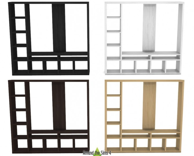 IKEA like Expedit/Kallax Furniture at Around the Sims 4 image 2209 670x538 Sims 4 Updates