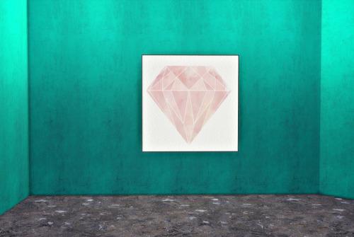 Sims 4 Paintings + grunge wallpaper at Hvikis