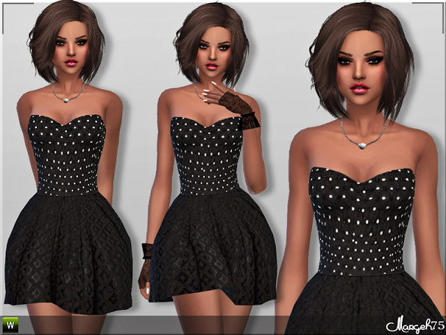 Millie Skater Dress by Margie at Sims Addictions image 2236 Sims 4 Updates