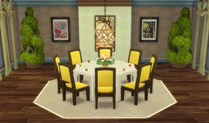 Sims 4 Star Pendant Light at Jool's Simming