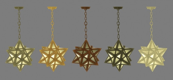Star Pendant Light at Jool's Simming image 2262 670x313 Sims 4 Updates