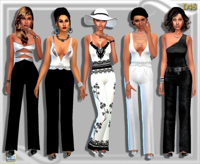 Sims 4 May Jumpsuit at Dreaming 4 Sims