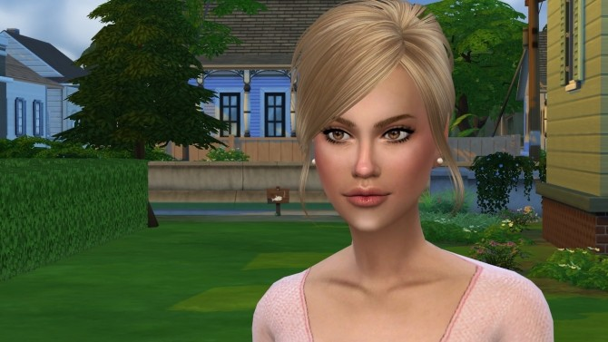 Sims 4 Leslie by Elena at Sims World by Denver