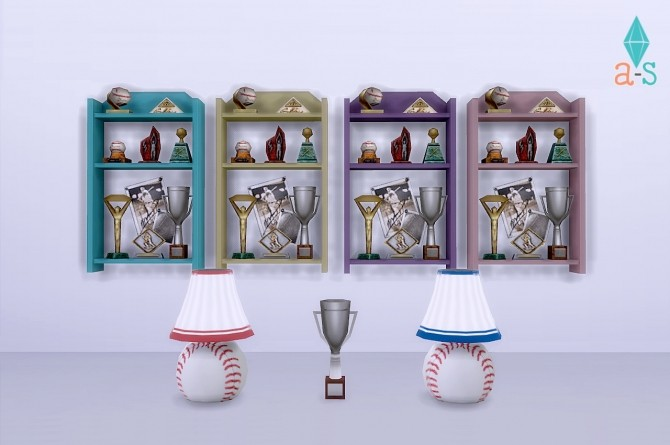Sims 4 Softball Equipment Ajoya Sims & OBP Collaboration at One Billion Pixels