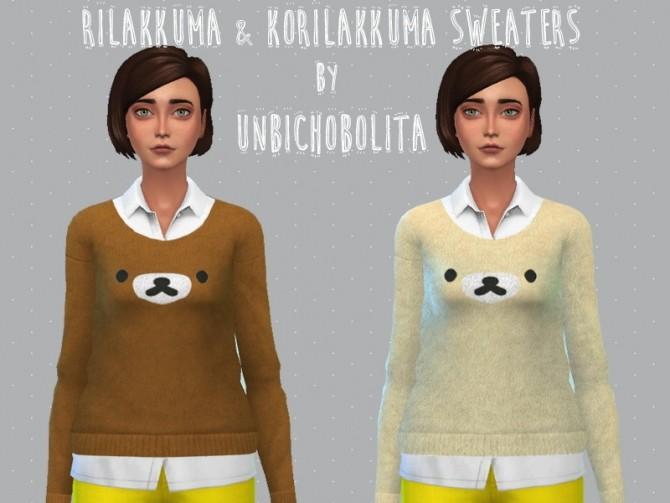 Sims 4 Rilakkuma sweaters at Un bichobolita